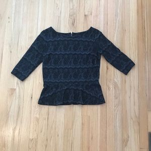 Beautiful Lacey Ann Taylor top size small